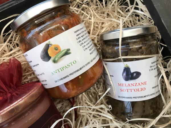 Antipasto Piemontese e melanzane sott olio